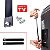 Indoor Clear TV Key Free Digital HDTV Antenna Ditch Cable As Seen on