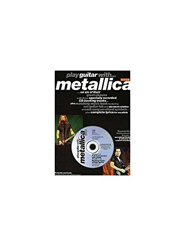 Play Guitar With... Metallica Book 2. Partitions, CD pour Tablature Guitare(Symboles dAccords)
