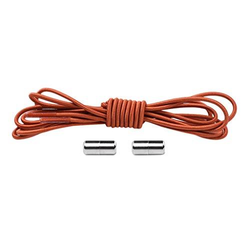 LSAltd 1 Paar No Tie Lazy Shoelaces Bandage Metal Connect Flexible -