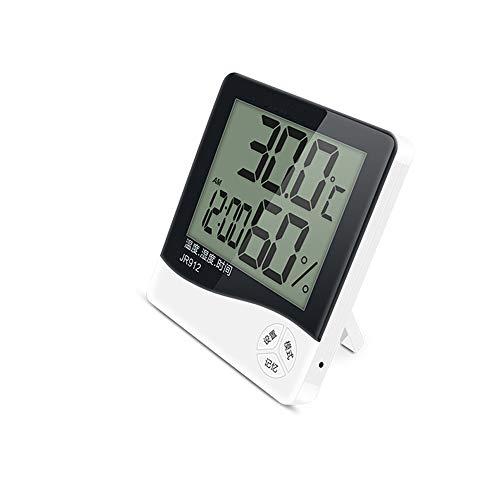 ZQ Elektronisches Thermometer Für Präzisions-Hochtemperatur-Thermometer Für Den Innenbereich Und Hygrometer-Multifunktions-Digital-Thermometer