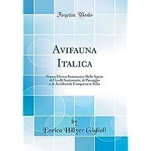 Avifauna Italica: Nuovo Elenco Sistematico Delle Specie di Uccelli Stazionarie, di Passaggio o di Accidentale Comparsa in Italia (Classic Reprint)