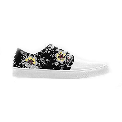 Dalliy Floral Flower Women's canvas Footwear Sneakers Shoes Chaussures de toile Baskets C