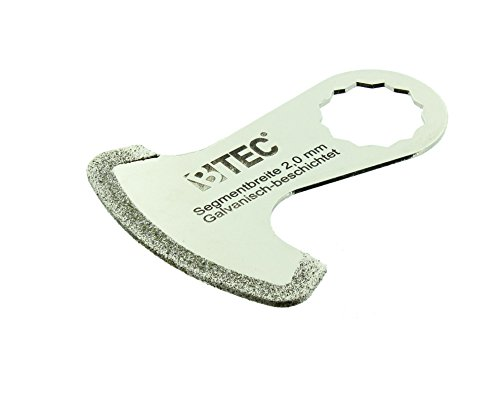 Diamant Segmentmesser Fugenhammer Galvanic 2,0 mm passend für FEIN SuperCut
