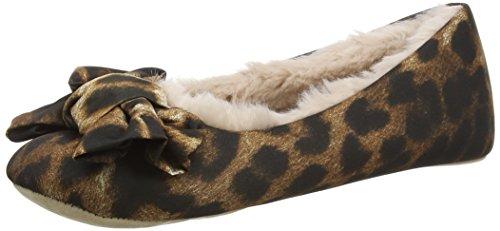 amp; Senhoras Bailarina Ed Rubi Multicolor Desorganizado leopardo Chinelos rRxr7UWv