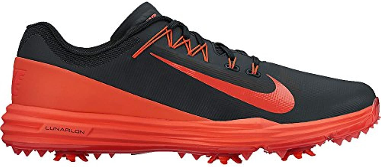 Nike Lunar Command 2 - Zapatillas Deportivas de Golf para Hombre, Color Negro/Naranja, Talla 43