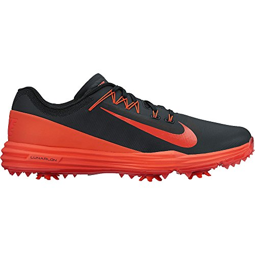 Nike Lunar Command 2 Scarpe Sportive, Uomo Multicolore (Black/max Orange)
