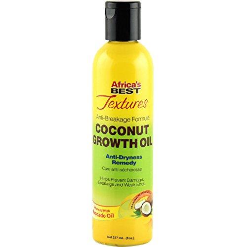 Africa's Best Huile de Croissance Avocat/Coco 237 ml