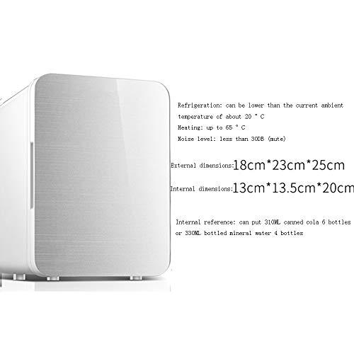 Xyanzi Mini-Kühlschränke Kompakter Kühlschrank, 4-l-Mini-Kühlschrank For Den Schreibtisch Familienauto mit Doppeltem Verwendungszweck For Autos Roadtrips Privathaushalte Büros und Schlafsäle Mehrere F (Schreibtisch-kühlschrank)