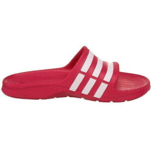 adidas Duramo Slide K - Sandales natation - Enfant Fuschia/Blanc