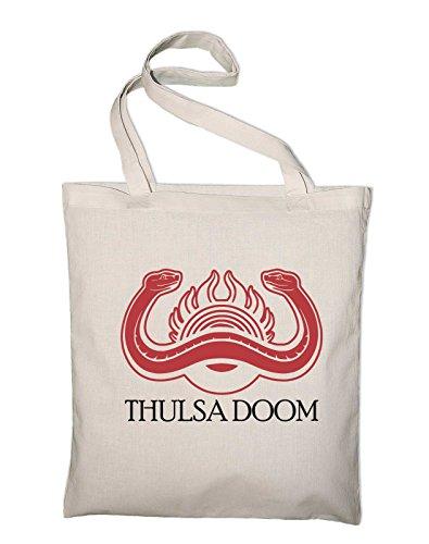 Thulsa Doom Wappen Logo Zeichen Jutebeutel, Film Natur