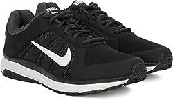 Nike DART 12 MSL Men Running Shoes (Black, Grey, White)