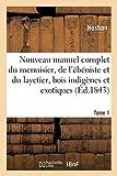 Nouveau manuel complet du menuisier, de l'ébéniste et du layetier : comprenant Tome 1: tous les détails sur la nature des bois indigènes et exotiques.