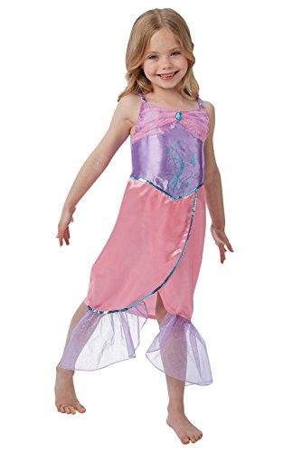 Rubie 's Offizielles Meerjungfrau Kostüm Mädchen klein (Halloween-kostüm Meerjungfrau Kleine)