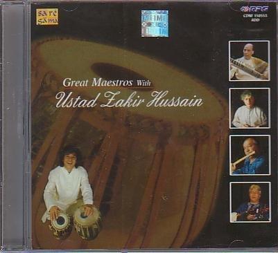 Great Maestros with Ust Zakir Hussain [ Hari Prasad Chaurasia