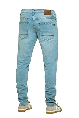 REELL Men Jeans Spider Artikel-Nr.1102-001 - 01-001 Light Blue Grey Wash