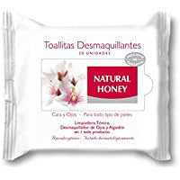 Natural honey toallitas desmaquillantes 20 unids.