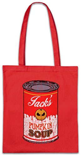 Urban Backwoods Jack's Pumpkin Soup II Hipster Bag Beutel Stofftasche Einkaufstasche