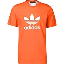 abd9584329f6 adidas Trefoil T-Shirt, Maglietta Uomo, True Arancio, XL