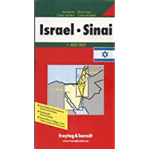 Israel and Sinai 1:400, 000: With Cultural Guide (Map)