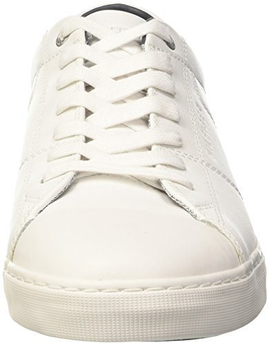 Tommy Hilfiger J2285ay 7a1, Sneakers Basses Homme Blanc (White 100)