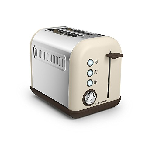 Morphy Richards 222004 Toaster Accents Special Edition 222003 Sandfarben, Edelstahl, Beige