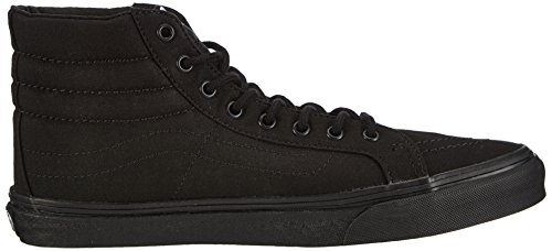 Vans U Sk8-Hi Slim, Baskets mode mixte adulte Noir (Black)