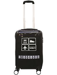 JET LAG BLACK BAG Bagage Cabine, 97 cm, Noir