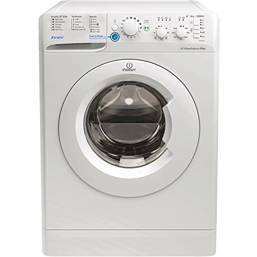 Indesit BWSC61252W Innex 6kg 1200rpm Freestanding Washing Machine - White