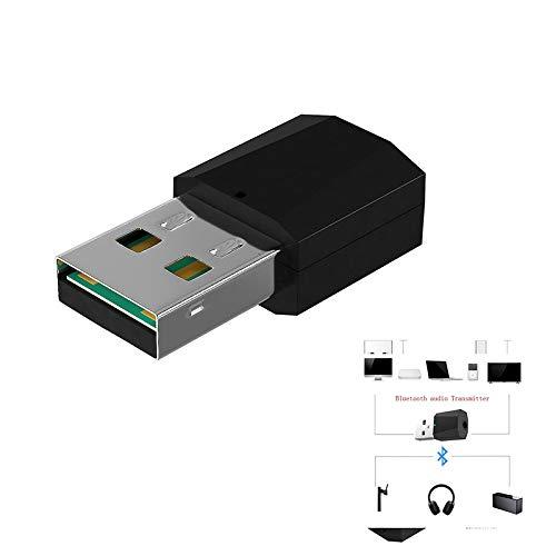 Lanceasy Mini USB Bluetooth 4.2 Adaptador USB Bluetooth 4.2 Adaptador transmisor de...