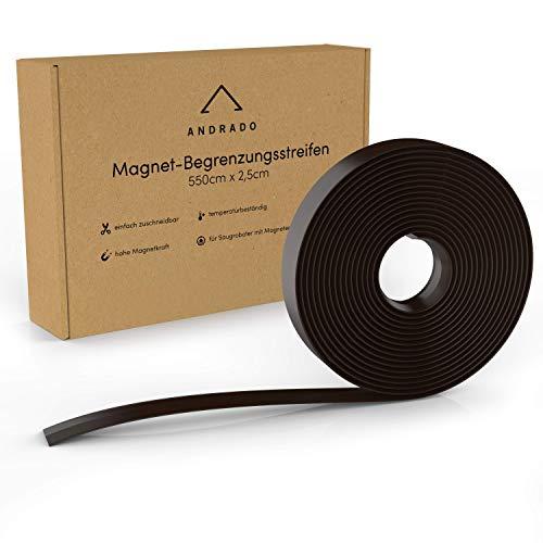 Saugroboter Magnetband - 5,5 Meter x 2,5 cm - extralanger Begrenzungsstreifen für Staubsauger von...
