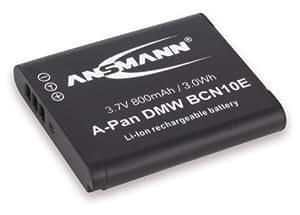 ANSMANN 1400-0052 Batterie A-Pan DMW BCN 10E pour appareil photo Panasonic DMW BCN 10E - 3,7V/800 mAh