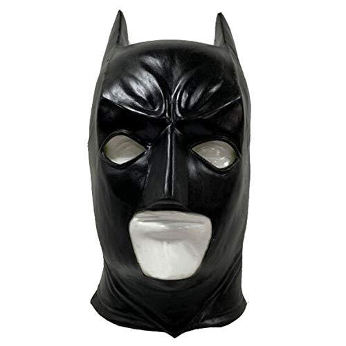 Dark Joker Kinder Knight Batman Kostüm - SEJNGF Erwachsenen Batman Dark Knight Vollmaske Latex Joker Clown Maske Halloween Rollenspiel Kostüme Abschlussball Requisiten,Batman