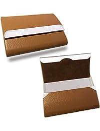 SNDIA Professional Soft Leather Business Cards Holder & Multi Card Case, Credit Debit Card Case For Women & Men