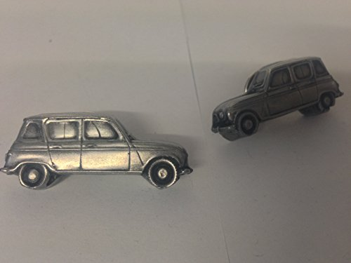 renault-4-3d-cufflinks-classic-car-pewter-effect-cufflinks-ref207