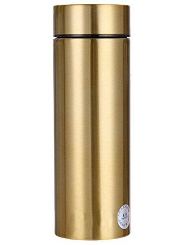 Thermos della boccetta di vuoto, bottiglia 380ML di acqua dell'acciaio inossidabile per l'escursione del campeggio Viaggiare Alpinismo Outdoor Sport Invernali