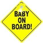 Gripfast Bright Yellow Baby On Board...