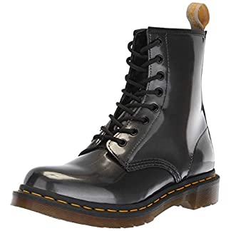 Dr. Martens Women's 1460 W Vegan Chrome Ankle Boots