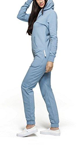 OnePiece Unisex Jumpsuit Original, Blau (Dusty), 34 (Herstellergröße: XS) - 4