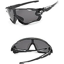 ASHOP Gafas de Bicicleta/Gafas de Montar, UV400 Lente Gafas de Sol Deportes al