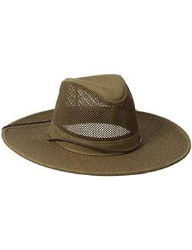 Henschel Crushable suave malla Aussie Breezer sombrero, mujer, color Tierra, tamaño Large