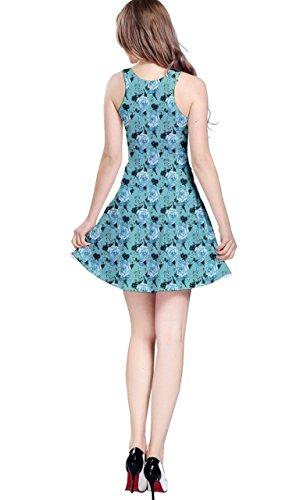 CowCow Damen Kleid Blau Blau Blau - Babyblau