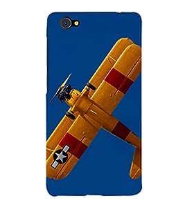 printtech Superfast Sky Airplane Propeller Back Case Cover for Vivo X5 Pro / VIVO X5PRO