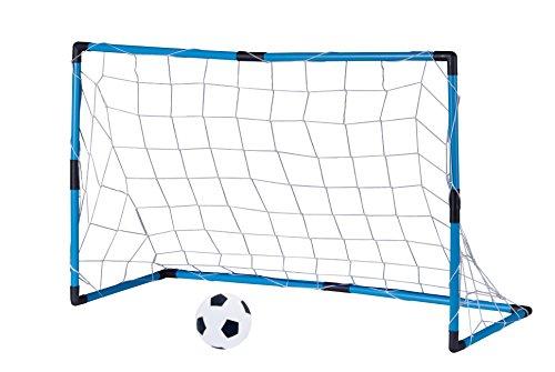 Edco porta con rete e pallone da calcio pallone 14 cm - Rete porta da calcio ...