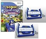 COFFRET SONIC SEGA ALL-STARS RACING - Wii + 2 VOLANTS