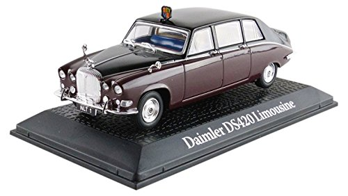 promocar-magprc609-daimler-ds420-limousine-queen-mother-echelle-1-43-marron