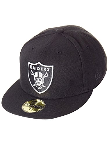 New Era Official Team Colour NFL Classic 59Fifty Oakland Raiders Fitted Cap