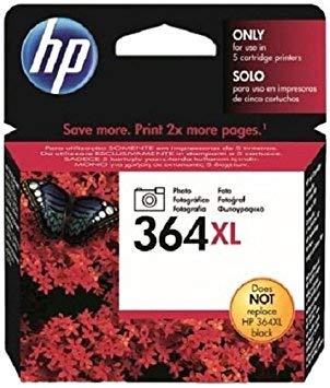 HP 364XL High Yield Photo Original Ink Cartridge (Photo Black)