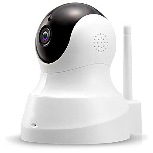 Telecamera di videosorveglianza 1080p wifi ip webcam 1080p hd indoor cam, sistema di sorveglianza ir visione notturna infrarossi wireless ip camera