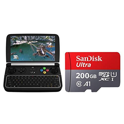 Asiproper GPD Win 2 Handheld-Gaming-Laptop m3-7Y30 Pocket PC mit 200 GB Karte (128 GB)