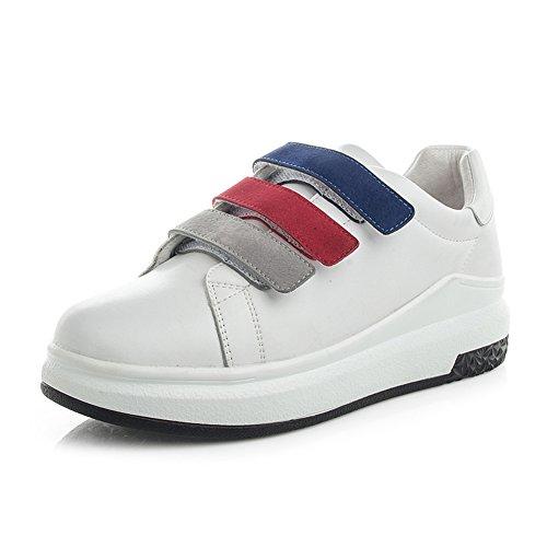 LIANGJUN Turnschuhe Eben Frauen Schuhe Dicker Boden Outdoor-Sportarten, Weiß, 6 Größen Verfügbar ( größe : EU40=UK6.5=L:250mm )
